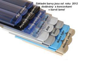 Standard pool slats