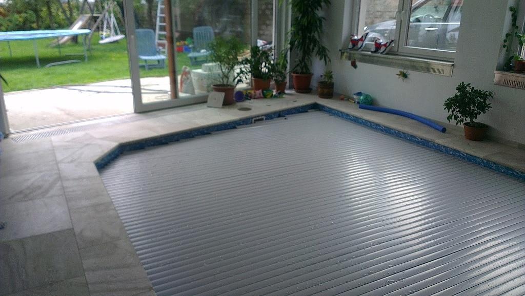 Pool slats profile 600 12