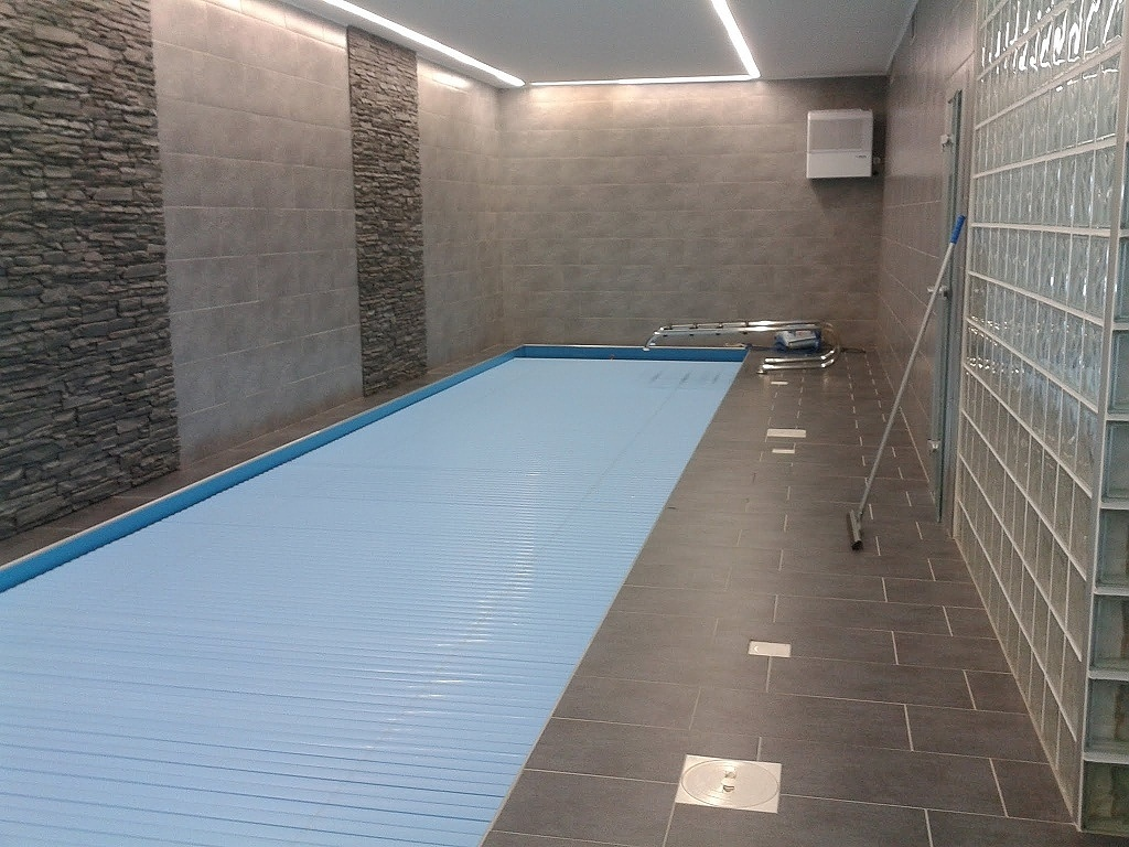 Pool slats profile 600 17