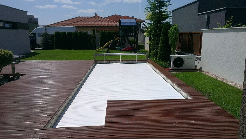 Pool slats profile 600 2