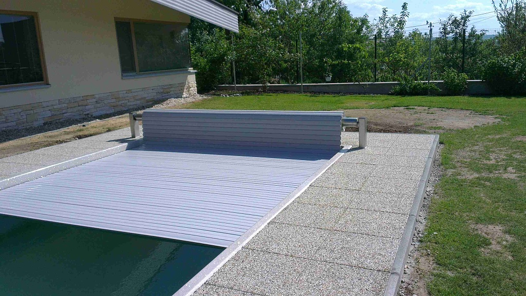 Pool slats profile 600 21