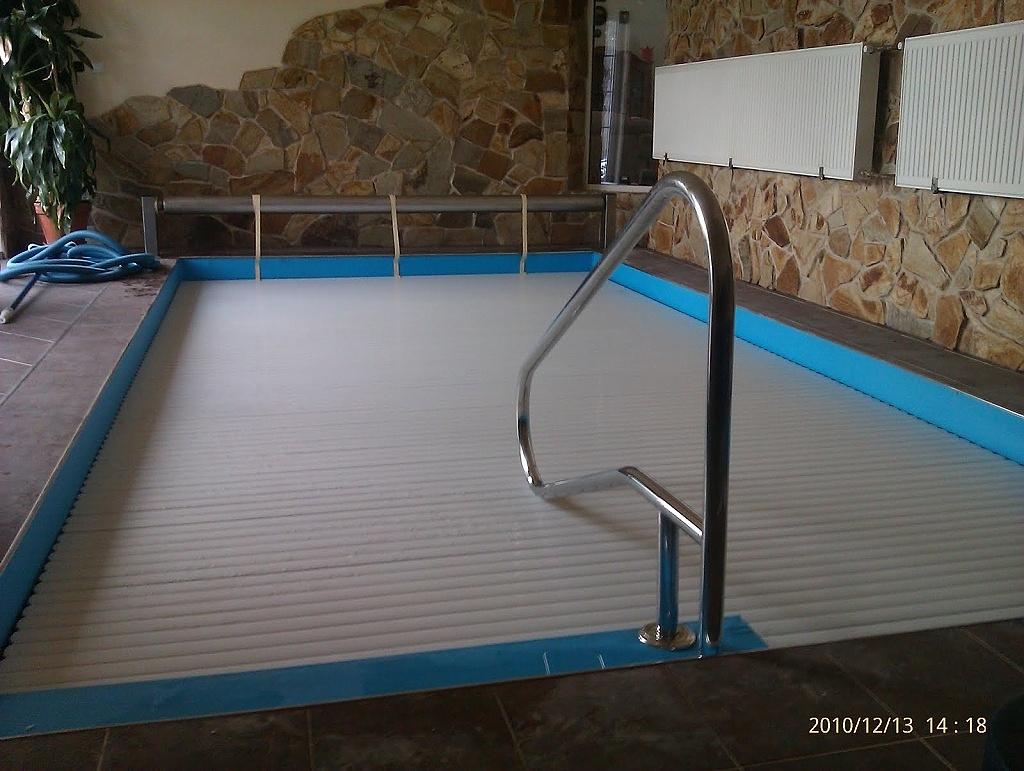 Pool slats profile 600 27