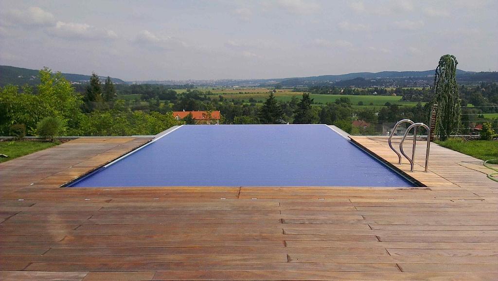 Pool slats profile 600 37