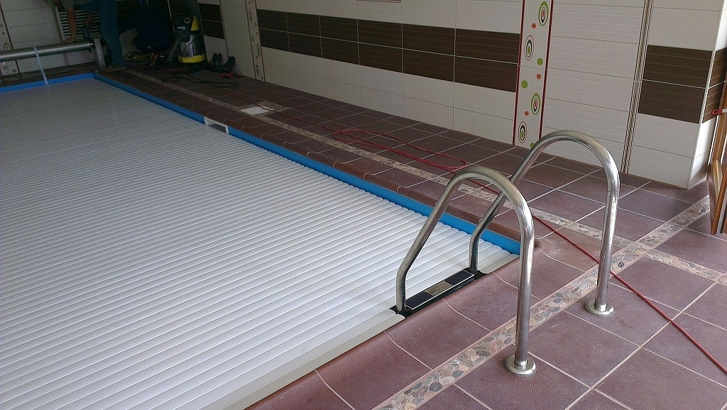 Pool slats profile 600 38