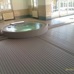 Pool slats profile 600 40