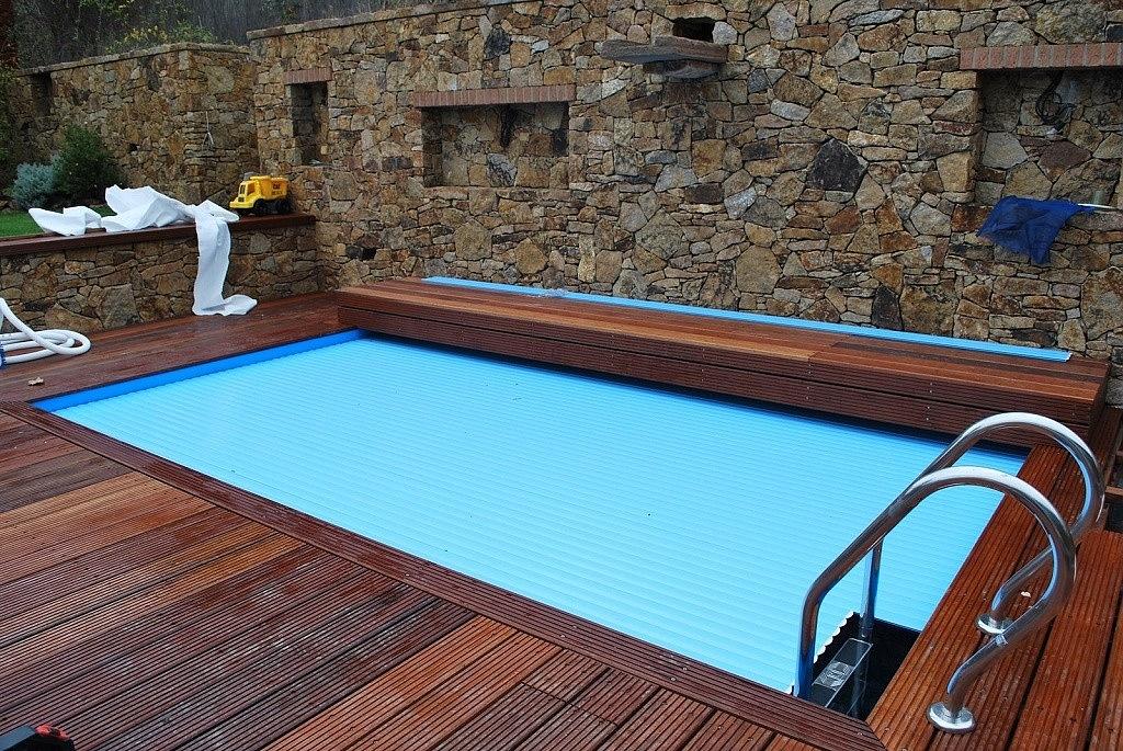 Pool slats profile 600 42