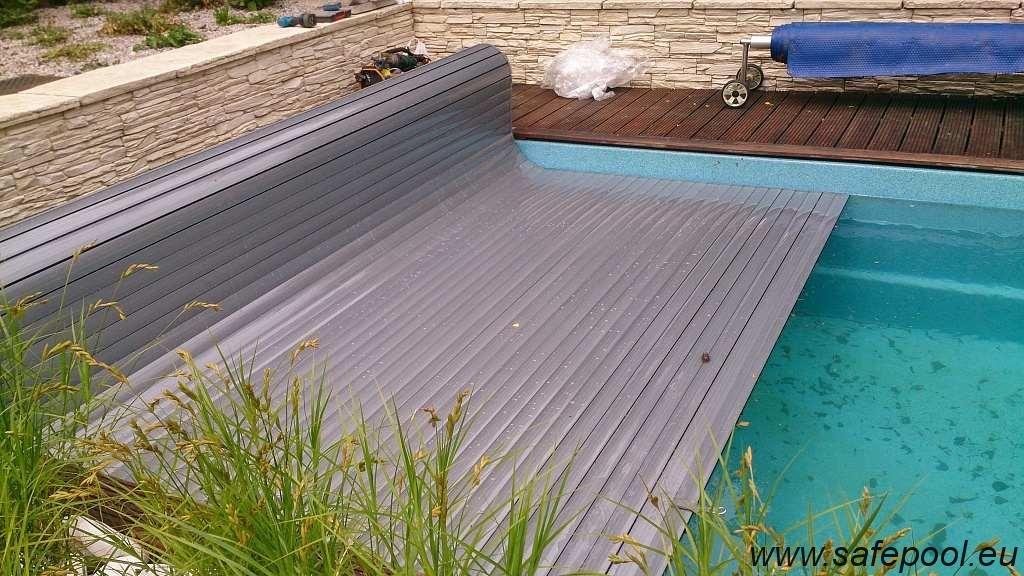 Pool slats silver solar 1