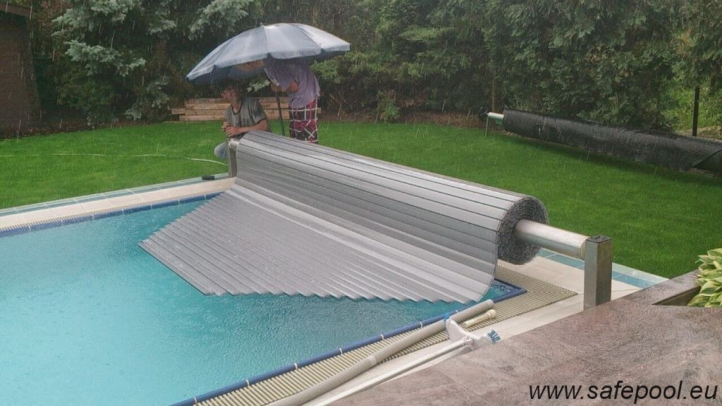 Pool slats silver solar 10