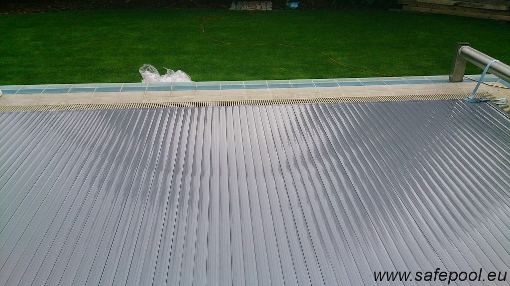Pool slats silver solar 12