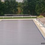 Pool slats silver solar 13