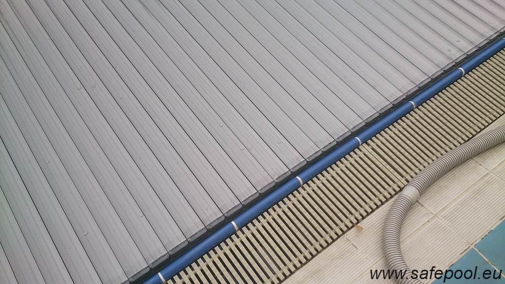Pool slats silver solar 14