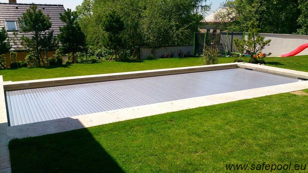Pool slats silver solar 16