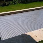 Pool slats silver solar 17