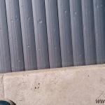 Pool slats silver solar 18