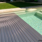 Pool slats silver solar 19