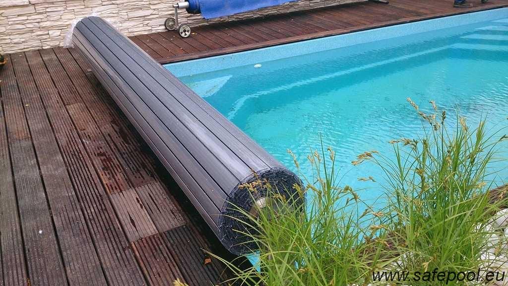 Pool slats silver solar 2