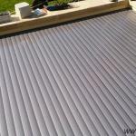 Pool slats silver solar 20