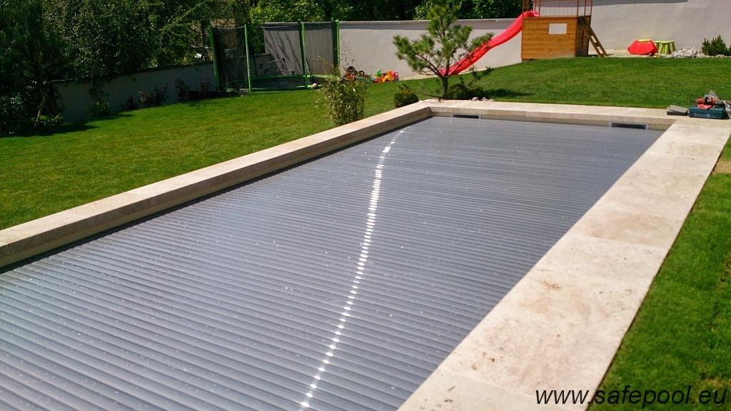 Pool slats silver solar 21