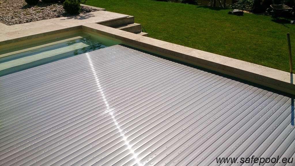 Pool slats silver solar 22