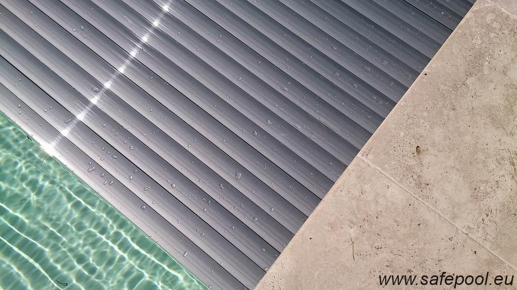 Pool slats silver solar 23