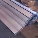 Pool slats silver solar 27