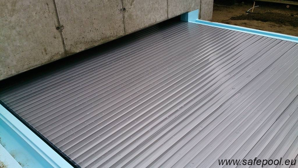 Pool slats silver solar 29