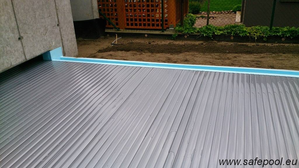 Pool slats silver solar 30