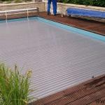 Pool slats silver solar 4