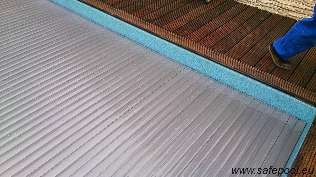 Pool slats silver solar 5