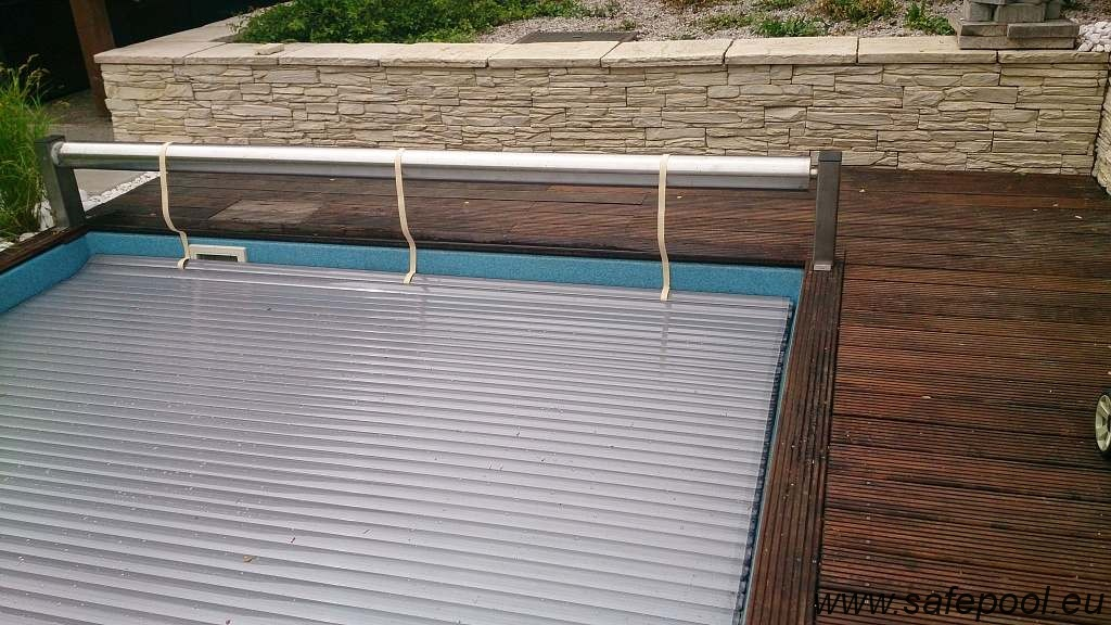 Pool slats silver solar 6