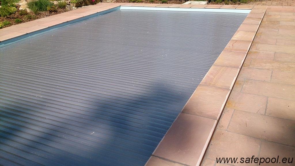Pool slats silver solar 8